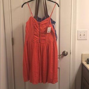 🔥NWT! Coral Sun Dress